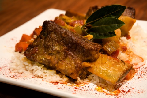 Sweet and sour beef short ribs