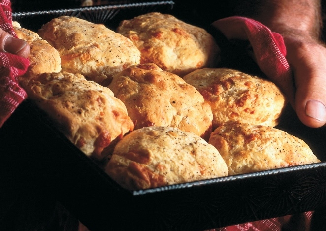 Grady's cheddar cheese biscuit recipe