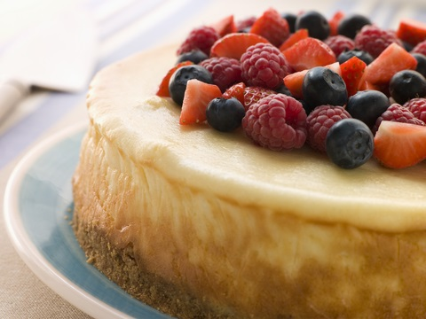 A Baked Cheesecake Recipe