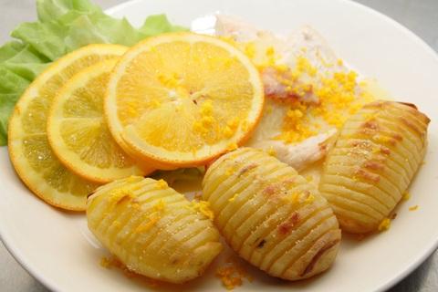 Cheesy Herbed Hasselback Potatoes