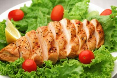 Thyme Marinated Chicken Breasts
