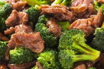 Chinese broccoli beef
