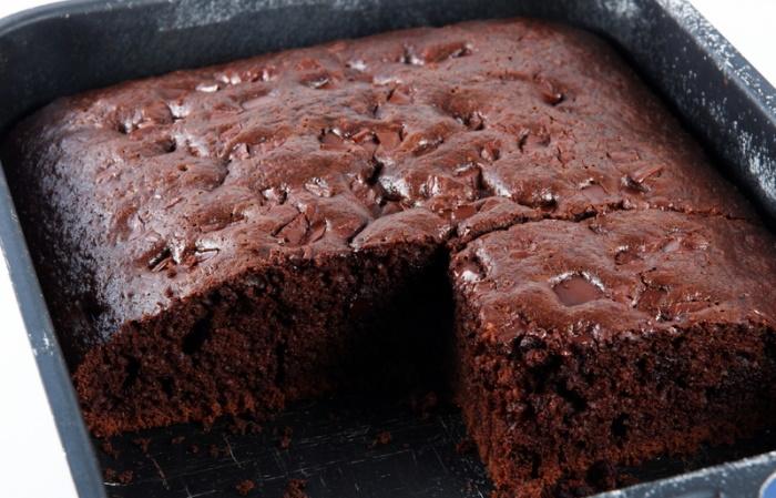 Double chocolate cake recipe