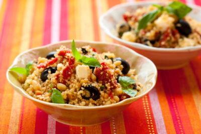 couscous salad image