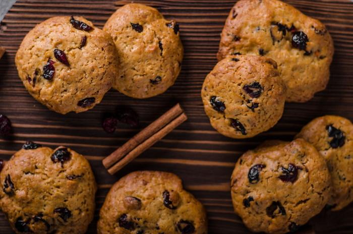 Spiced hermit cookie recipe