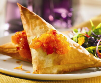 baked vegetarian samosa recipe