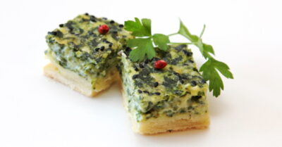 easy spinach and cheese party appetizers