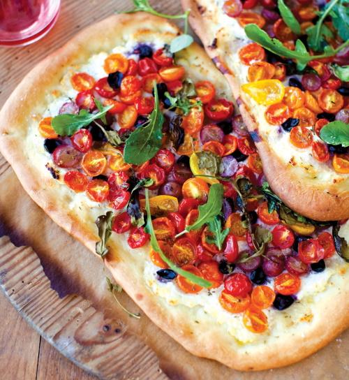 flatbread recipe with ricotta