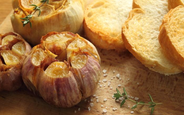 garlic roasted