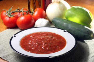 Savory Gazpacho Soup