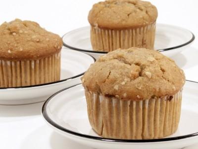 Apple Oat Bran Muffins