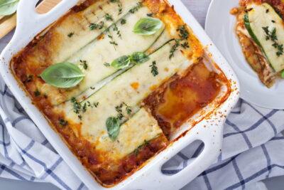 lasagna recipe with zucchini noodles