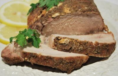 lemon pork roast recipe