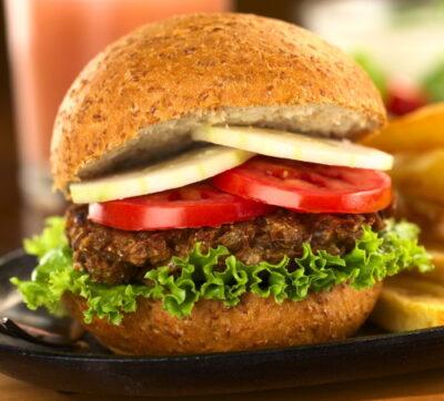 lentil burgers image