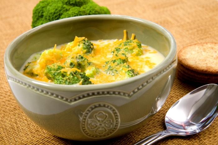 low carb broccoli soup