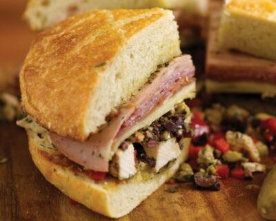 muffaletta sandwich