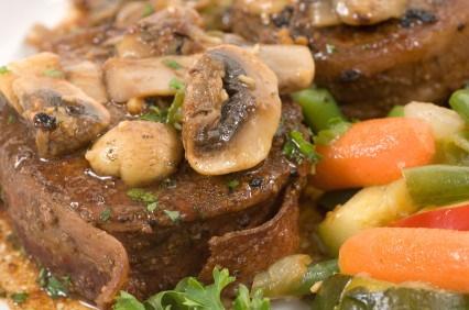 mushroom sauce image