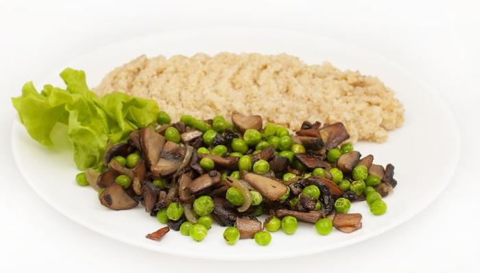 Mushroom and peas recipe