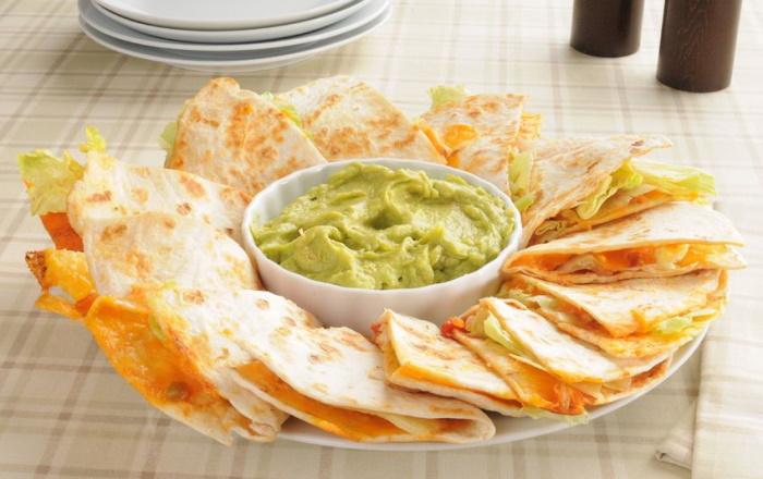 Cheese quesadillas