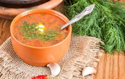 cabbage soup or borscht