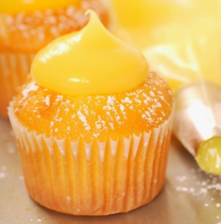Luscious Lemon Cupcakes