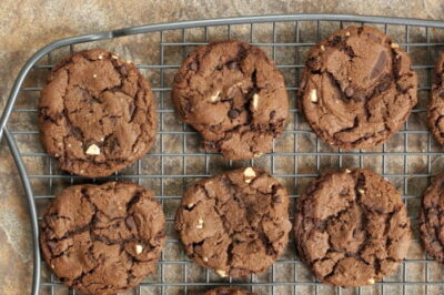 melt in your mouth chocolate chocolate chip cookies