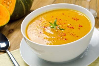 Tasty squash soup