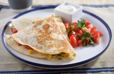 Vegetarian quesadillas recipe