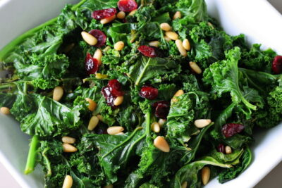 buttered kale