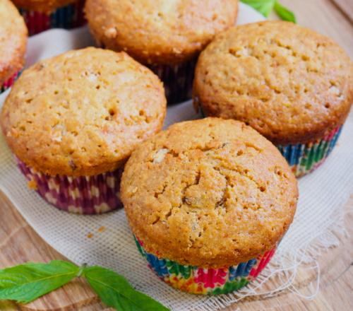 Three grain healthy muffins