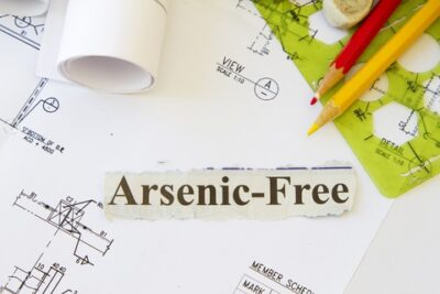 Levels of arsenic in rice