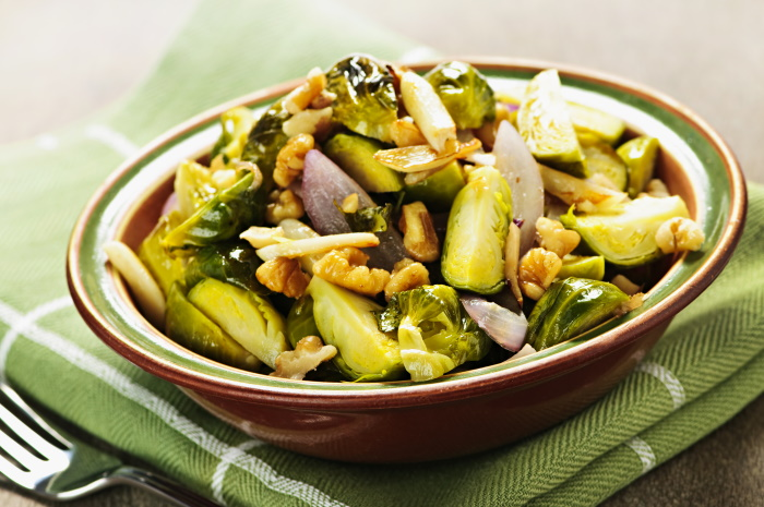 Brussel sprouts recipe with pecan butter