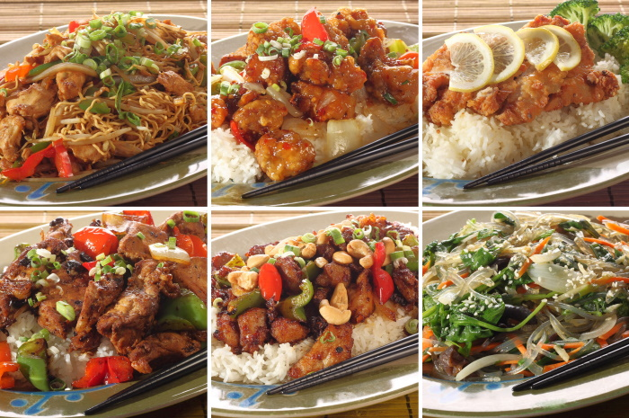 Asian and Thai recipes