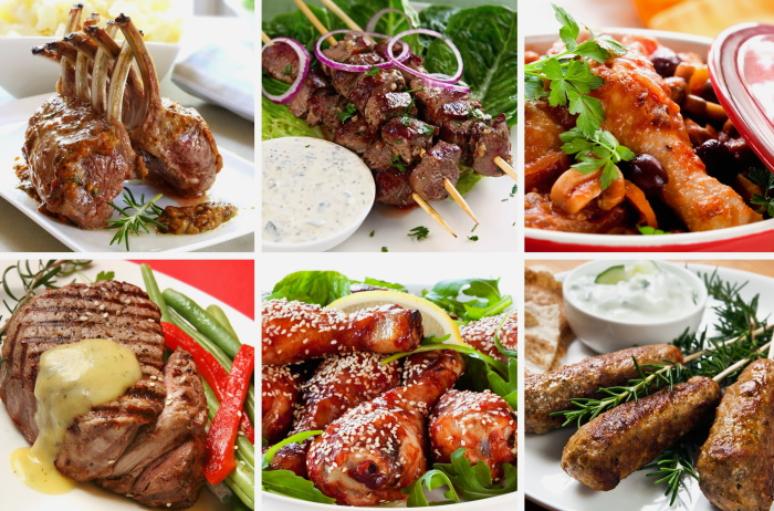 Beef, pork, lamb and chicken recipes