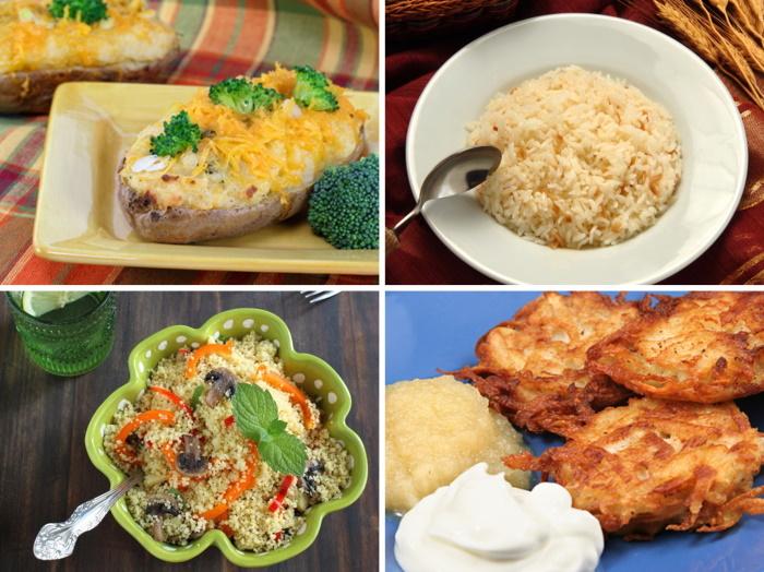 rice, noodle and potato recipes