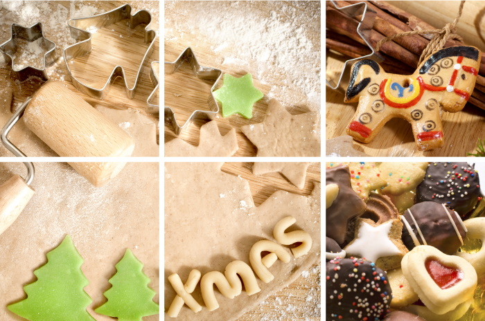 Christmas baking recipes on the site