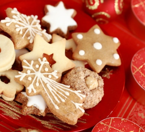 A variety of Christmas cookie recipes