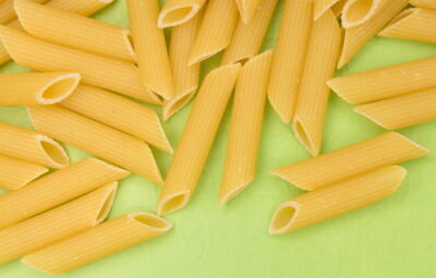 penne pasta, dry