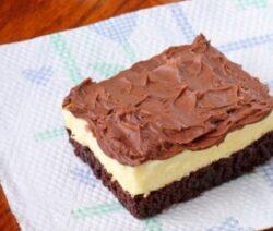 almond macaroon brownie recipe