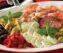 Italian antipasti platter.