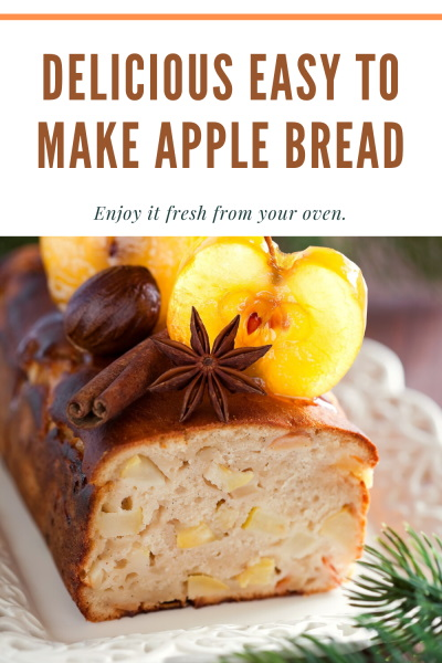 apple bread pinterest image