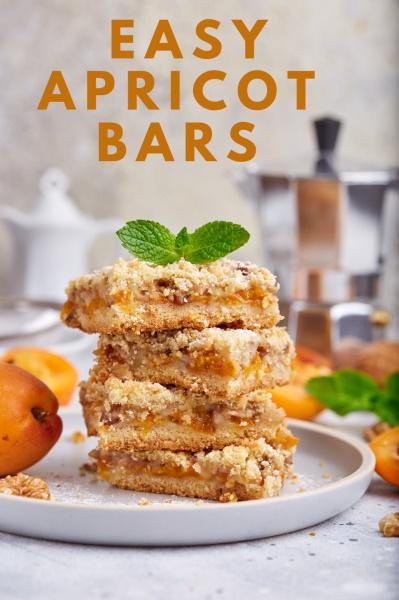 apricot bars pinterest image