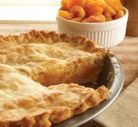 whole apricot pie