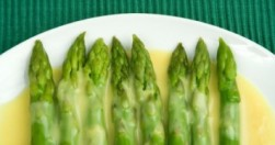 Asparagus with Orange Butter Sauce