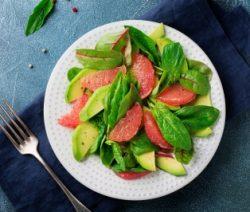 Grapefruit and avocado salad recipe