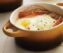 Baked Eggs with Asiago Cream