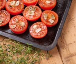 Baked Tomatoes Recipe with Herbs