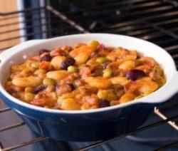Sausage and Bean Casserole