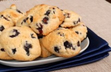 Blueberry Soft Chocolate Chip Cookies