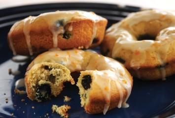 Baked Blueberry Donut Recipe